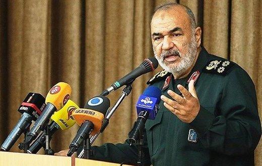 هشدار صریح سرلشکر سلامی به صهیونیستها: کوچکترین خطا، آخرین خطایتان خواهد بود