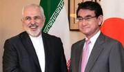 توصیه وزیر خارجه ژاپن به ایران: لطفا «خویشتنداری» کنید/عکس