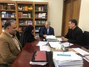 نشست استاندار چهارمحالوبختیاری با رئیس سازمان برنامهوبودجه کشور