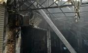 خسارت ۵ میلیارد ریالی آتش به شبکه برق بازار تبریز