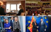 بانوی صلح طلب اروپایی؛ سیاستمداری که دربرابر ترامپ ایستاد / عکس