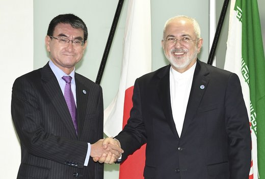 Iran FM discusses bilateral ties with Japanese counterpart