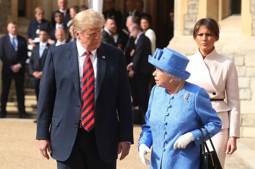 مردم لندن چه خواب جدیدی برای ترامپ دیده اند؟