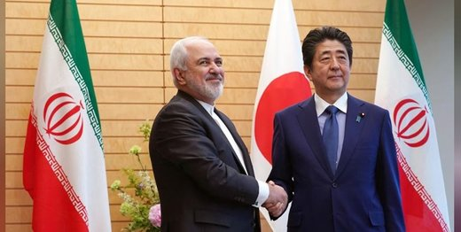 نخستوزیر ژاپن به ظریف درباره تنش در خاورمیانه چه گفت؟/ عکس