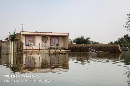 ارزیابی خسارت سیل برای ۲۷۴ روستای خوزستان انجام شد