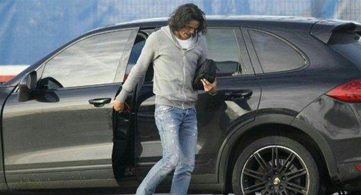 سرقت خودروی ۲۰۰ هزار یورویی ادینسون کاوانی در پاریس