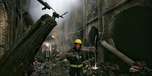رد احتمال خروج بازار تبریز به دلیل آتشسوزی از فهرست آثار یونسکو