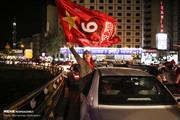تصاویر   جشن قهرمانی پرسپولیسیها در خیابانهای تهران