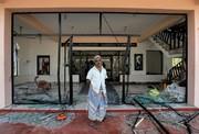 تصاویر | خسارات حمله به مساجد در سریلانکا