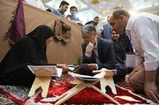 تصاویر | وزیر ارشاد و فرمانده ناجا در نمایشگاه قرآن