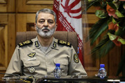 فرمانده کل ارتش: دشمن مرتکب خطایی شود، پاسخی پشیمان کننده میدهیم