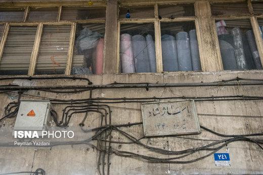 هشدار آتشنشانی؛ بازار تهران در خطر