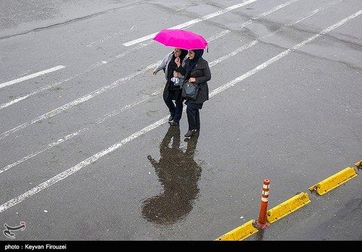 ۹ استان جمعه بارانی هستند