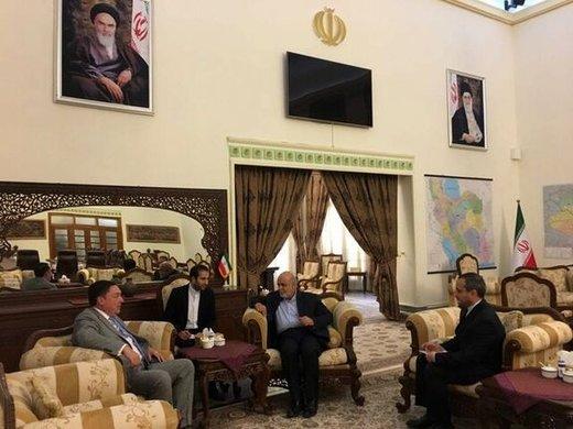 دیدار سفیر یک کشور اروپایی با سفیر ایران در عراق