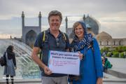 تصاویر | وقتی توریستهای خارجی از ایران مینویسند