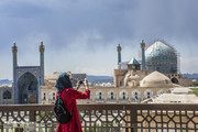More foreign tourists arriving in Isfahan