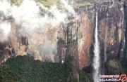 باور کنید یا نه، این آبشار عجیب که سه برابر برج ایفل ارتفاع دارد، واقعیست! +تصاویر