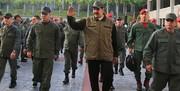 تصاویر   پیامی که ارتش ونزوئلا در پاسخ به تهدیدهای آمریکا فرستاد