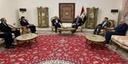 سفیر ایران در بغداد با رئیس جمهوری عراق دیدار کرد
