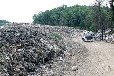 زبالهگردی در دل جنگل نوشهر
