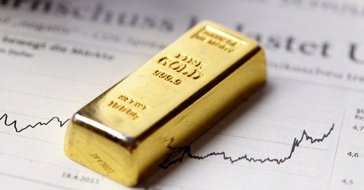 قیمت طلای جهانی در حال ثبت رکورد گرانی