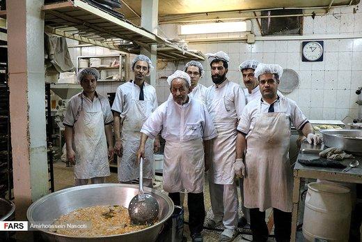 طبخ زولبیا و بامیه در زنجان