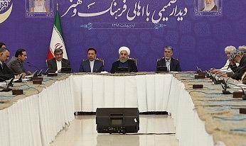 روحانی: در برابر زورگویی دشمن هیچگاه تسلیم نخواهیم شد