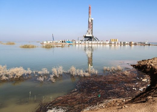 استاندار خوزستان: هورالعظیم کاملا آبگیری نشد چون شرکتهای نفتی خارجی مانع شدند
