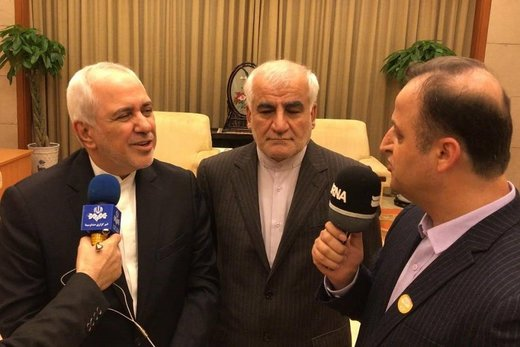 Iran FM: No war expected in region