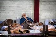 تصاویر | بزرگترین گرمخانه تهران در شبهای رمضان
