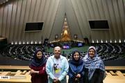 تصاویر | قربانیان اسیدپاشی در جلسه علنی مجلس