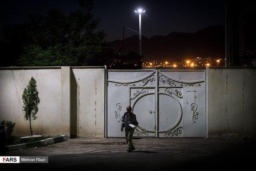 گرمخانه خاوران تهران در شبهای ماه رمضان