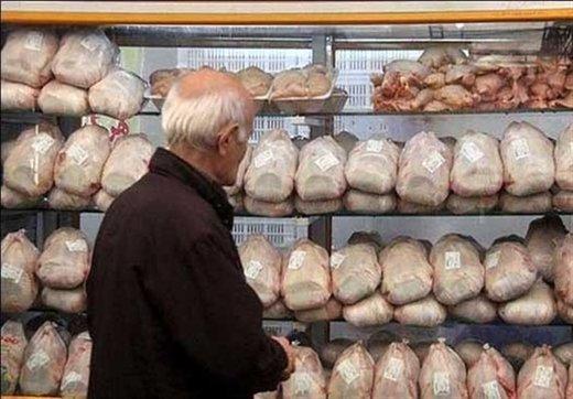 نرخ مرغ روی ۱۲.۰۰۰ تومان ماند