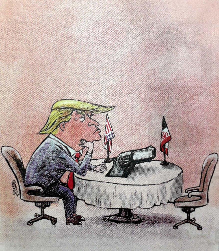 آمادگی کامل ترامپ برای مذاکره را ببینید!