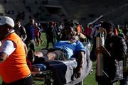 فیلم | ویکتور هوگو در زمین فوتبال جان باخت