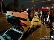 تصاویر   تصادف هولناک ۲ پژو ۲۰۶ در بزرگراه امام علی(ع)