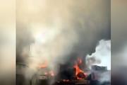 فیلم | وقتی آتش به جان فلافلیهای اهواز افتاد