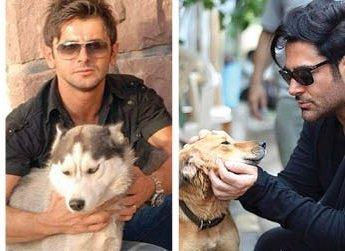 خانم بازیگر به خاطر داشتن عکس با سگ حذف شد، مردهای بازیگر با همان عکسها روی آنتن هستند