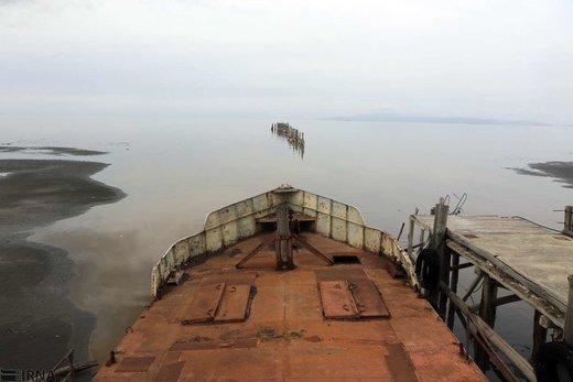بازگشت زندگی به دریاچه ارومیه
