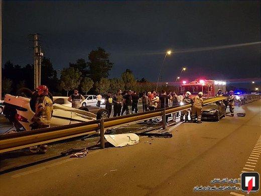 حوادث جادهای در سال گذشته ۶.۷ درصد بیشتر از سال ۹۶ کشته گرفت/ استاندار تهران: این آمار فاجعه است