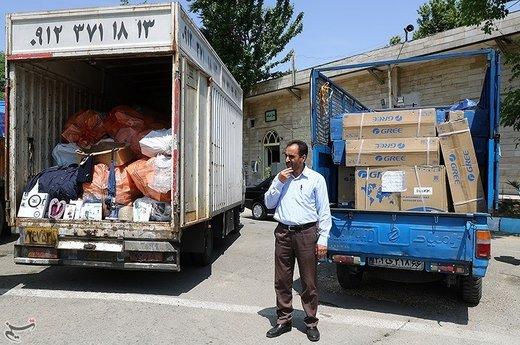 نمایشگاه کشفیات چند ده میلیاردی قاچاق کالا در پلیس آگاهی تهران بزرگ