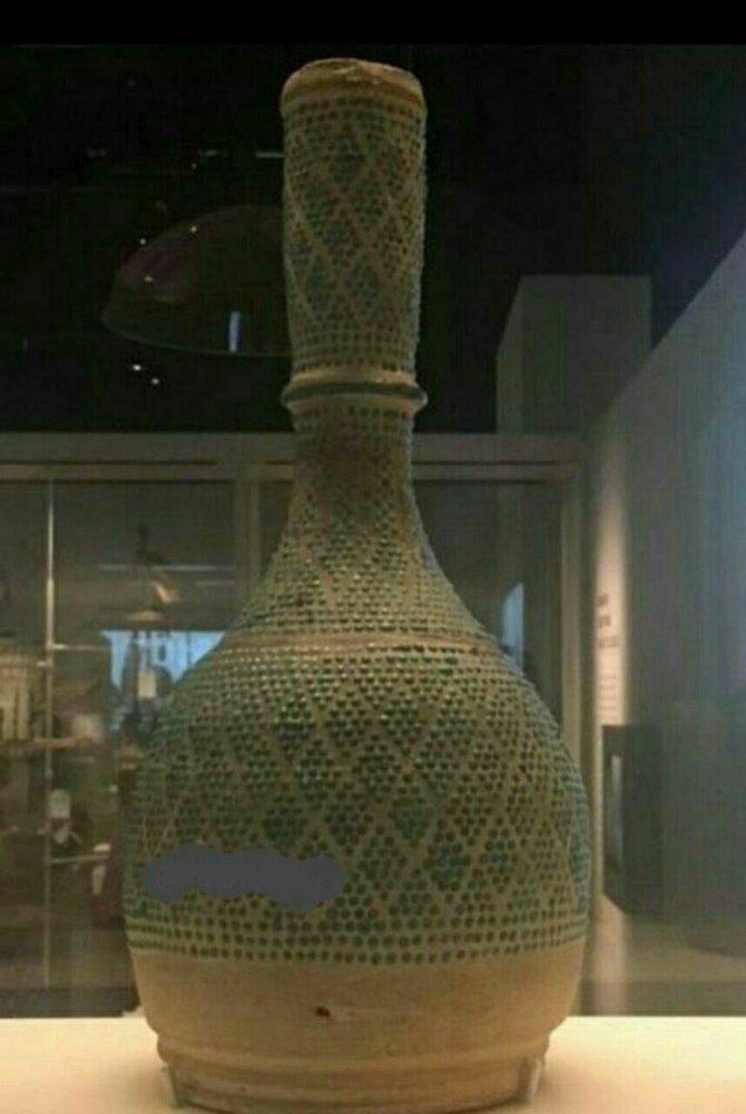 عکس/ قلیان ناصرالدین شاه قاجار سر از موزه فرانسه در آورد!