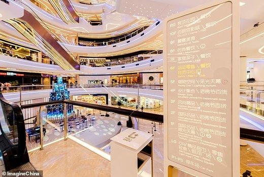 افتتاح اولین مرکز خرید هوشمند در چین مجهز به ۵جی هوآوی