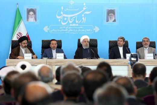 روحانی: با افتخار تحریمها در فروش نفت، را دور میزنیم