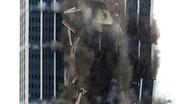 تصاویر | فریم به فریم با تخریب یک آسمانخراش در پنسیلوانیا
