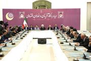 روحانی: طی ۶ سال گذشته دست در جیب بانک مرکزی نبردیم