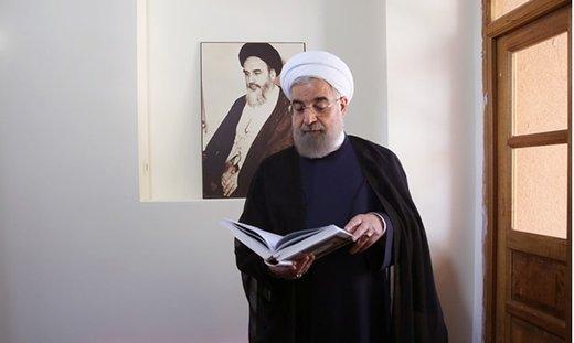 روحانی به میشل عون: تنها راه مقابله با متجاوزین، ایستادگی و مقاومت است