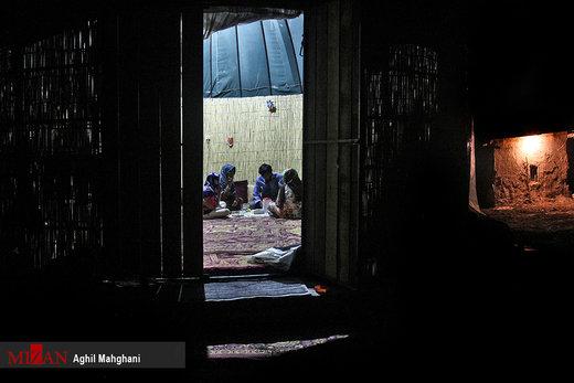 ماه رمضان در مناطق سیلزده آققلا