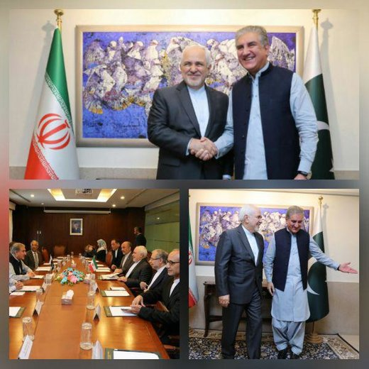 Iranian FM Meets Pakistani Counterpart, Army Commander