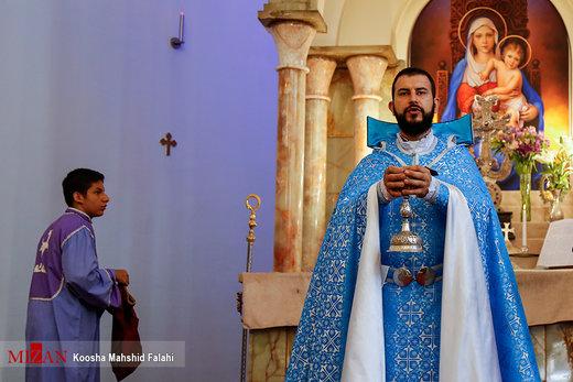 مراسم گرامیداشت امام خمینی(ره) از سوی شورای خلیفهگری ارامنه